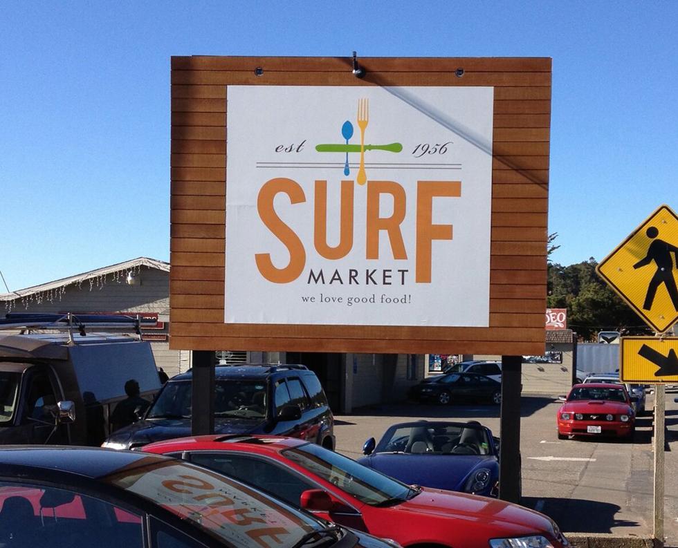 SurfMarketStreetSign