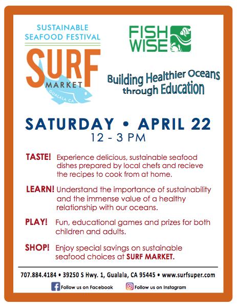 Surf Market 2017 Sustainable Seafood Festival