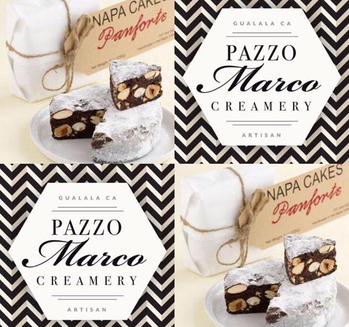 Pazzo Marco Cheese and Napa Cakes Panforte