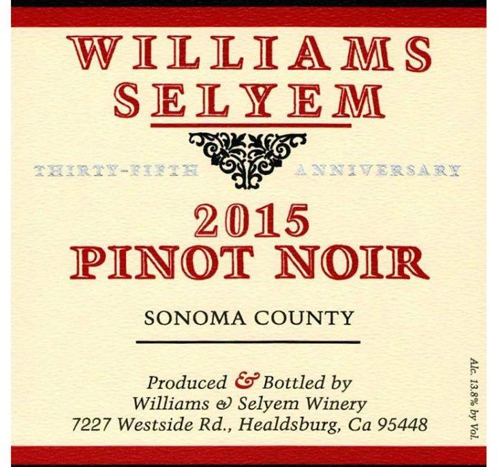 Williams Selyem Wine Tasting