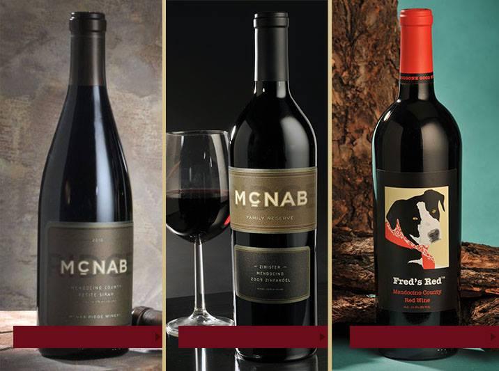 Mc Nab Ridge Vineyards Wine Tasting